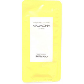 ПРОБНИК Шампунь для волос VALMONA ПИТАНИЕ Nourishing Solution Yolk-Mayo Shampoo 10мл