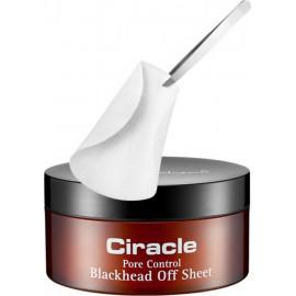 Салфетки Ciracle Pore Control Blackhead Off Sheet для удаления черных точек 30 шт