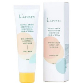 Зеленая база под макияж L'arvore Boosting Base Brightening Tone-Up Creame Pure Green