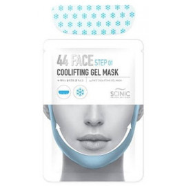 Маска SCINIC для коррекции контуров лица 44 Face Coolifting Gel Mask