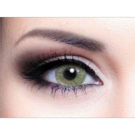 Цветные линзы HERA Vogue Green на 3мес. от 0 до -6дптр (2шт)