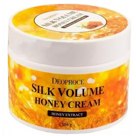 Увлажняющий крем DEOPROCE MOISTURE SILK VOLUME HONEY CREAM 100 гр