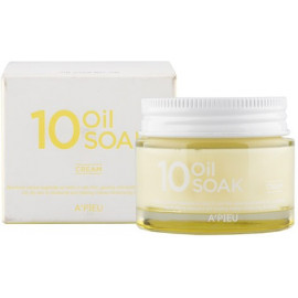 Крем для лица APIEU с органическими маслами 10 Oil Soak Cream 50 мл