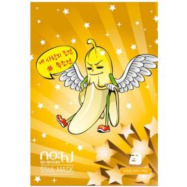 Маска тканевая NOHJ Banaman SSUL Maskpack Lemon