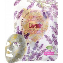 Маска тканевая NOHJ HERBS FIT SHEET Mask Lavender