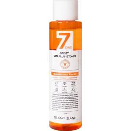 Витаминизированный тонер MAYISLAND 7Days Secret VITA PLUS-10 TONER 155 мл