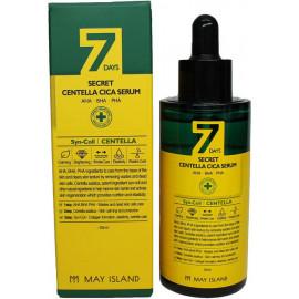 Сыворотка MAYISLAND с АНА/ВНА/РНА кислотами и центеллой 7 days 7days secret centella cica serum 50 мл