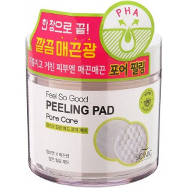 Очищающие пилинг-спонжи SCINIC с PНA кислотами FEEL SO GOOD PEELING PAD 70 шт