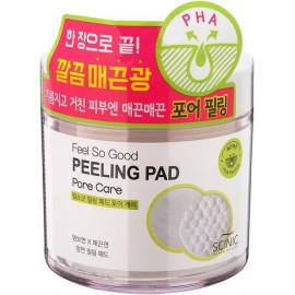 Очищающие пилинг-спонжи SCINIC с PНA кислотами FEEL SO GOOD PEELING PAD 70 шт