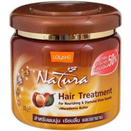 Маска LOLANE для лечения волос с маслом ореха макадамии 500 гр