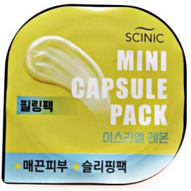 Капсульная маска SCINIC Mini Capsule Pack Lemon
