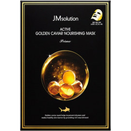Тканевая маска Jmsolution с экстрактом икры и золотом Active Golden Caviar Nourishing Mask Prime
