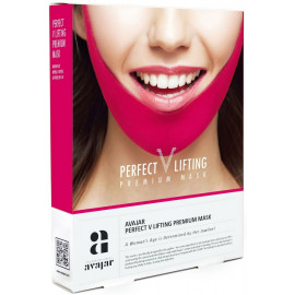 Лифтинговая маска AVAJAR  perfect V lifting premium mask купить