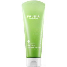 Себорегулирующий скраб-пенка Frudia с зеленым виноградом Green Grape Pore Control  Scrub Cleansing Foam 145 мл