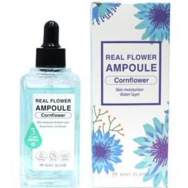 Сыворотка для лица MAYISLAND Real Flower Ampoule Cornflower 100 мл купить
