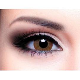 Цветные линзы HERA Vogue Brown на 3мес. от 0 до -6дптр (2шт)