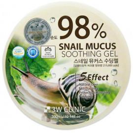Гель универсальный УЛИТОЧНЫЙ МУЦИН 3W CLINIC Snail 98% 300 гр