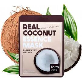 Тканевая маска для лица FarmStay с экстрактом кокоса 23мл в рассрочку по Халве
