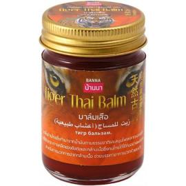 Тайский красный тигровый бальзам BANNA 50 гр
