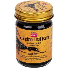 Тайский чёрный бальзам Cкорпион BANNA 50 гр