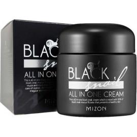 Крем Mizon из слизи черных африканских улиток Black Snail All In One cream 75 мл