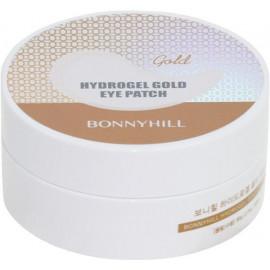 Патчи для глаз BONNYHILL с золотом Hydrogel Gold Eye Patch