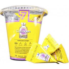 Высококонцентрированная сыворотка MAYISLAND с коллагеном 7 Days Highly Concentrated Collagen Ampoule c бесплатной доставкой