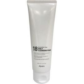 Пенка для лица A'pieu для молодой кожи 18 Daily Cleansing Foam 130мл