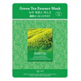 Тканевая маска для лица MIJIN Essence Mask зеленый чай