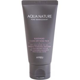 Маска для лица A'pieu Aqua Nature Blackhead Clean-Off Nose Pack [s]