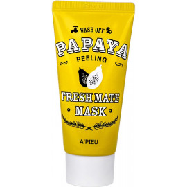 Маска для лица A'pieu очищающая с папайей Fresh Mate Papaya Mask Peeling 50мл