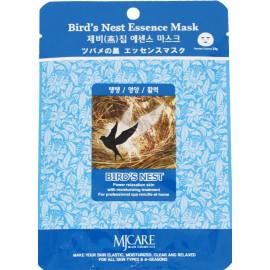 Тканевая маска для лица MIJIN Essence Mask ласточкино гнездо