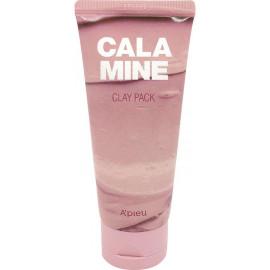 Маска для лица A'pieu глиняная с каламином Calamine Clay Pack 100гр