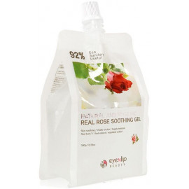 Гель для тела EYENLIP увлажняющий NATURAL AND HYGIENIC REAL ROSE SOOTHING GEL 300гр
