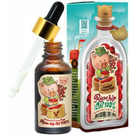 Масло Elizavecca для лица и тела farmer piggy rose hip oil 100%