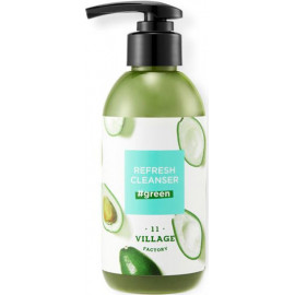 Пенка для умывания Village 11 Factory Refresh Cleanser Green 185 гр