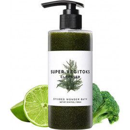 Пена для умывания WONDER BATH SUPER VEGITOKS CLEANSER GREEN 200 мл