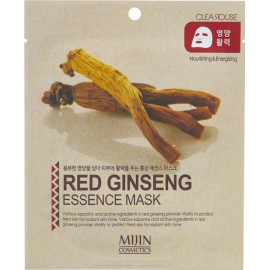 Тканевая маска для лица MIJIN Red Ginseng Essence Mask (жень-шень)