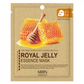Тканевая маска для лица MIJIN Royal Jelly Essence Mask (маточное молочко)