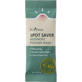 Энзимная пудра ISNTREE SPOT SAVER MUGWORT POWDER WASH 1 гр