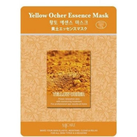 Тканевая маска для лица MIJIN Essence Mask охра