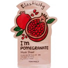 Тканевая маска Tony Moly с экстрактом граната I'm Pomegranate Mask Sheet 21 мл