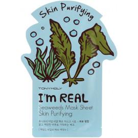 Тканевая маска Tony Moly с экстрактом морских водорослей I'm Seaweed Mask Sheet 21 мл купить