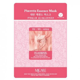 Тканевая маска для лица MIJIN Essence Mask плацента