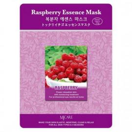 Тканевая маска для лица MIJIN Essence Mask малина