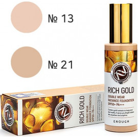Тональный крем Enough Rich Gold Double Wear Radiance Foundation 13 тон 100 мл