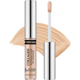 Консилер Enough осветляющий Collagen Whitening Cover Tip Concealer тон 01 5 гр