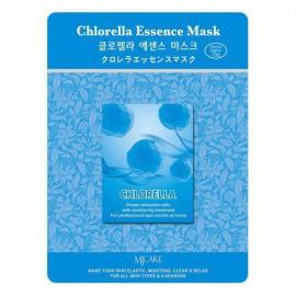 Тканевая маска для лица MIJIN Essence Mask хлорелла