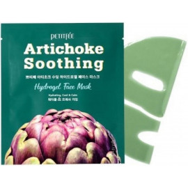Гидрогелевая маска Petitfee с экстрактом артишока Artichoke Soothing Hydrogel Face Mask в Беларуси