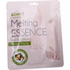 Маска-носочки Koelf  для ног СМЯГЧАЮЩАЯ Melting ESSENCE Foot Pack